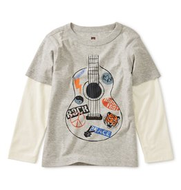 Tea Collection Guitar Layering Tee 2T-4T