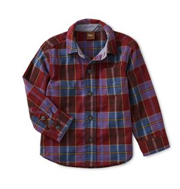 Tea Collection Family Plaid Shirt 9/12M