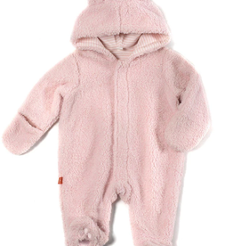 Bears Fleece Pram 6M, 9M