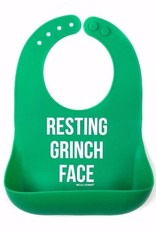 Bella Tunno Limited Edition Grinch Face Wonder Bib