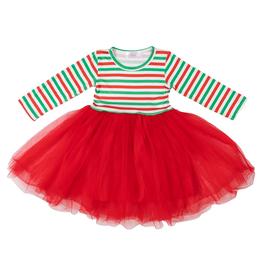 Mila & Rose Christmas Stripe Tutu Dress 5/6