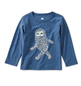 Tea Collection Baby Yeti Tee 3/6-9/12M