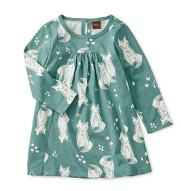 Tea Collection Sand Fox Dress 3/6-9/12M