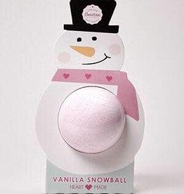 Feeling Smitten Bath Bakery Vanilla Snowball Bath Bomb