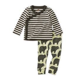 Tea Collection Outfit Cuddly Cubs 3/6, 6/9M