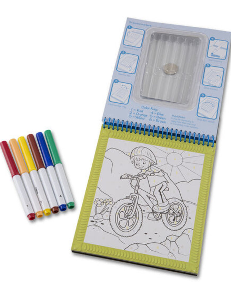 Melissa & Doug Color by Number Pad Blue