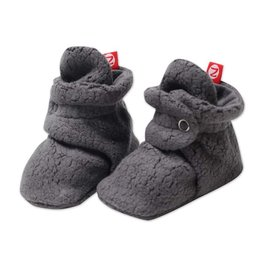 Zutano Fleece Bootie Gray 3M