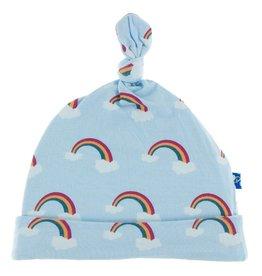 Kickee Pants Knot Hat Pond Rainbow 3/12M
