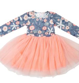 Mila & Rose L/S Tutu Winter Dress 2-4T