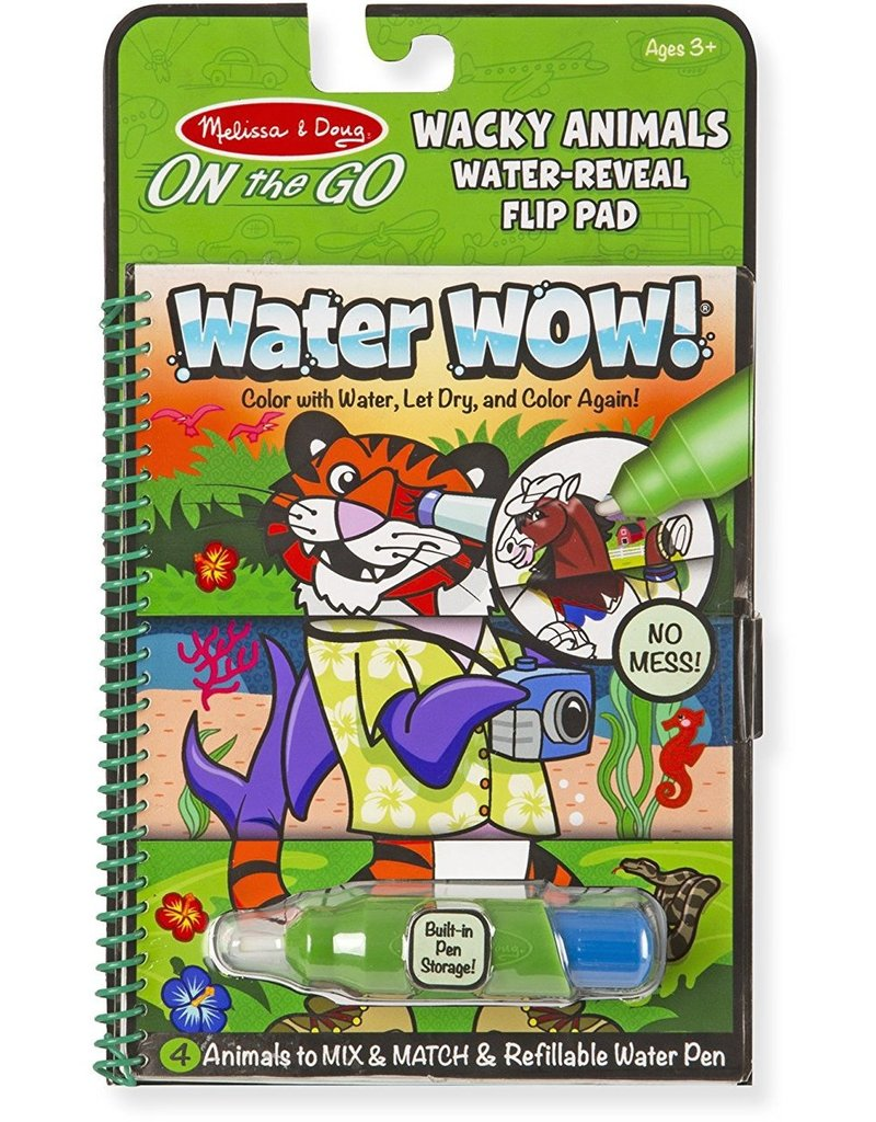Melissa & Doug Wacky Animals Water Wow!