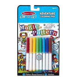 Melissa & Doug Adventure Magic Patterns Coloring Pad