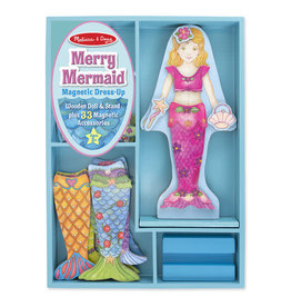 Melissa & Doug Merry Mermaid Magnetic
