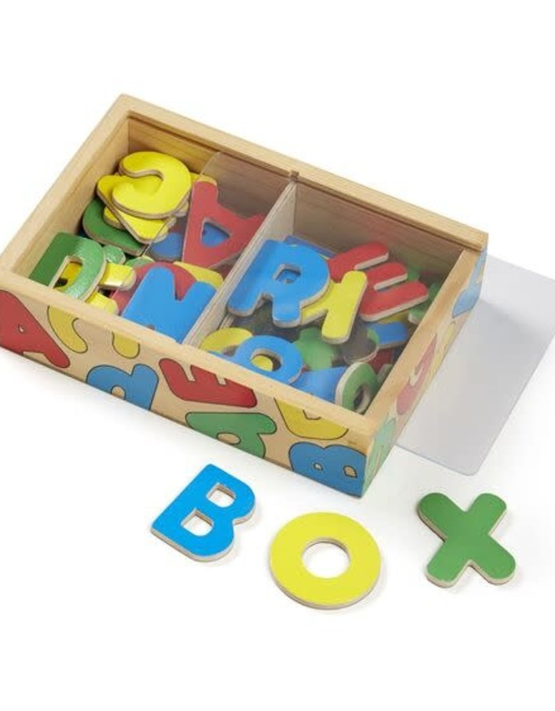 Melissa & Doug Box of Alphabet Magnets
