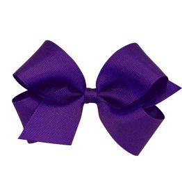 Wee Ones Med Grosgrain Purple