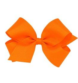 Wee Ones Med Grosgrain Orange