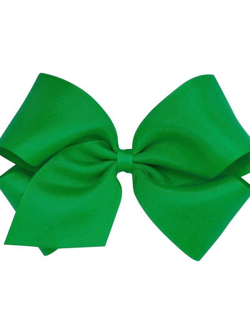 Wee Ones King Grosgrain Bow Green