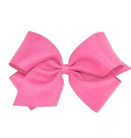 Wee Ones King Grosgrain Hot Pink