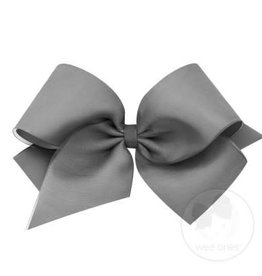 Wee Ones King Organza Overlay Pewter
