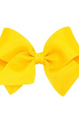 Wee Ones Small Grosgrain Bow Yellow