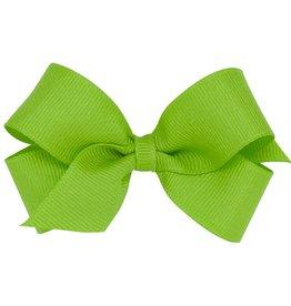 Wee Ones Mini Grosgrain Apple Green