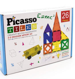 Picasso Tiles Magnet Inspirational Set 26 pc