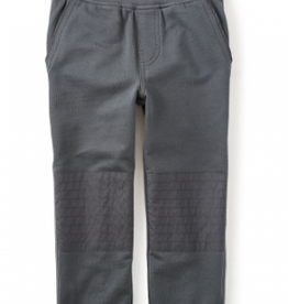 Tea Collection French Terry Moto Pants Coal