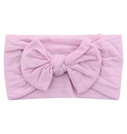 Mila & Rose Nylon Bow Headwrap Thistle