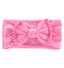 Mila & Rose Pom Pom Headwraps Bubblegum