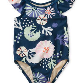 Tea Collection Baby One-Piece Sea Life Adventure 6/9, 9/12M