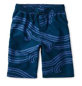 Tea Collection Swim Trunks Waves of Adventure 3T, 4T