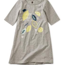 Tea Collection Lemon Graphic Dress 5-7