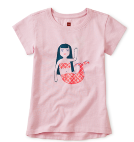 Tea Collection Mermaid Graphic Tee 2T, 4T