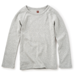 Tea Collection Ribbed Purity Tee Med Heather 10