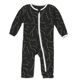 Coverall w/zip 9/12M