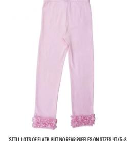 Ruffle Butts Ruffle Leggings Pink  8