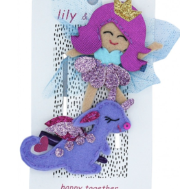 Lily & Momo Fairy and Dragon Hair Clips