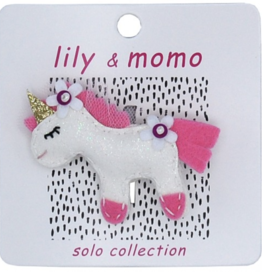 Lily & Momo Come Fly with Me Unicorn Clip