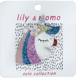 Lily & Momo Twinkle Unicorn Hair Clip