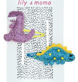 Lily & Momo Dynomite Dinosaurs Hair Clips