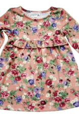Bailey's Blossoms Alecia Ruffle Dress Shell Pink/Garden Floral