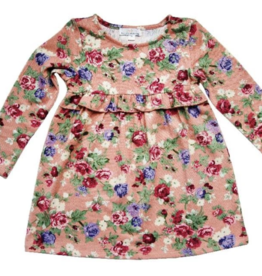 Bailey's Blossoms Alecia Ruffle Dress  6/9-9/12M
