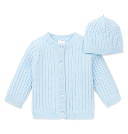 Little Me Huggable Cable Sweater 6M