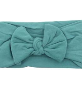 Mila & Rose Nylon Bow Headwrap Spruce
