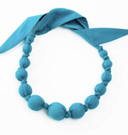 Peppercorn Kids Autumn Solid Dark Turquoise Necklace