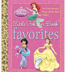 Random House Publishing Disney Princess Little Golden Favorites