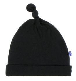 Kickee Pants Solid Knot Hat Midnight NB/3M,  3/12M