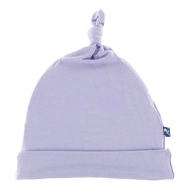 Kickee Pants Solid Knot Hat Lilac NB/3M,  3/12M