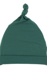 Kickee Pants Solid Knot Hat Ivy 3/12M
