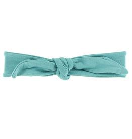 Kickee Pants Solid Bow Headband Neptune Small