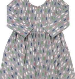 Ruffle Butts Brushed Confetti Twirl Dress 4T